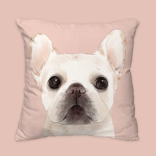 I will always love you. Classic Fighting Dog Animal Pillow / Pillow / Cushion