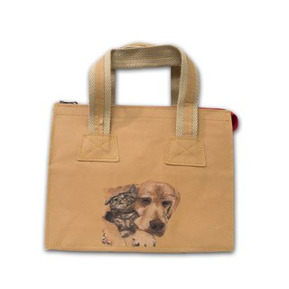 Personalised Washable Paper Small Tote