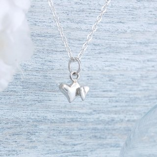 Heart and soul (silver necklace)