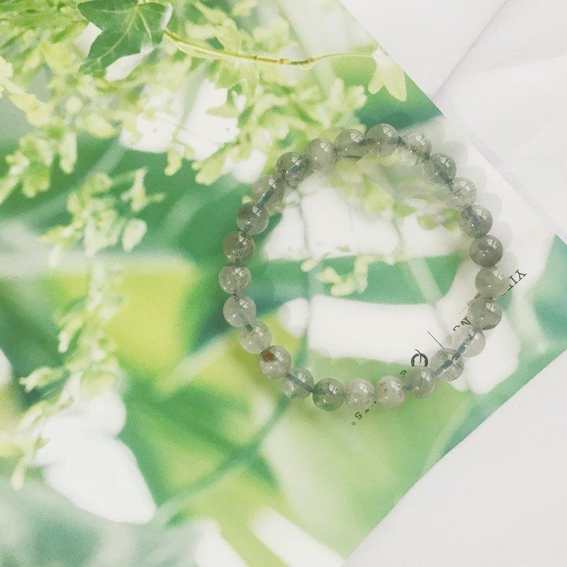 綠幽靈 水晶 能量手環