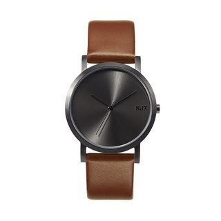 Minimal Watches : Metal Project Vol.02 - Gunmetal (Brown)