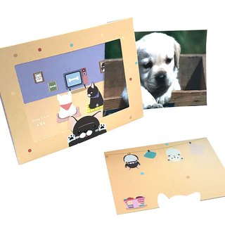 Xpress Card + Photo Frame Fight & Shiba Innocent Communication Card Photo Frame