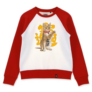 AMO®Original cotton adult Sweater/AKE/Fortune Cat
