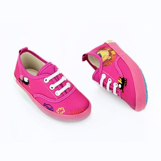 Elastic band shoes color fuchsia for toddler ( only the shoes)