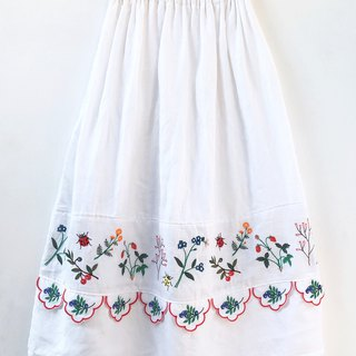 Botanica Embroidered Maxi Skirt
