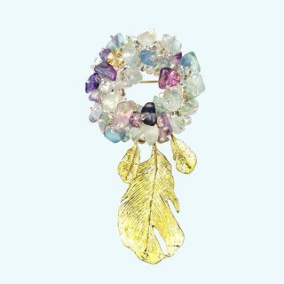 Exquisite - Japanese Style Brooch【Harvest Grapes】 【wedding】 【Gift】
