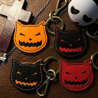 Cat leisure card key ring Halloween Edition