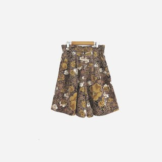 Dislocation vintage / flower totem shorts no.815 vintage