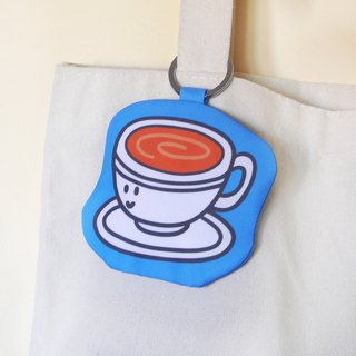 【Cha Chaan Teng Collection】-Keyring glasses cleaning cloth -(GH15)