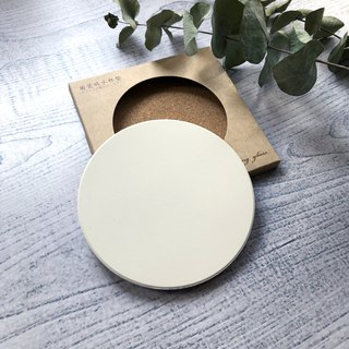 Customized - ceramic water coaster (minimum two)