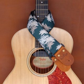 Green Hawaii Guitar Strap