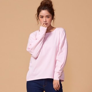 Organic Cotton Tops Bishop Sleeve / Pink (Woman / Woman)