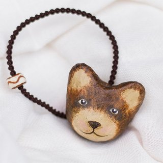 Bear hair ring / animal headdress