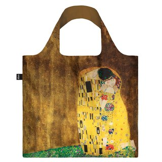 LOQI Shopping Bag - Museum Series (Klimt - Kiss GKKI)