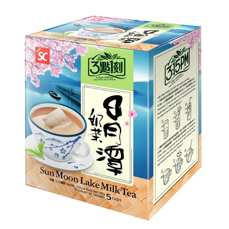 【3點1刻】世界風情 日月潭奶茶 5入/盒