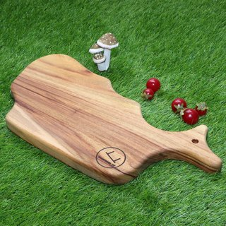 Whale Shaped Serving Board