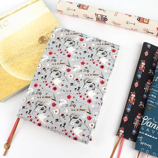 A5/25K adjustable cotton linen multifunctional book cover/book cover/book cover (A1~A3)