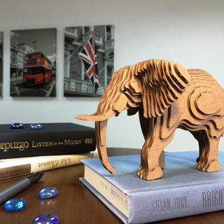 Contamo Handmade Model Wildlife Series - Elephant