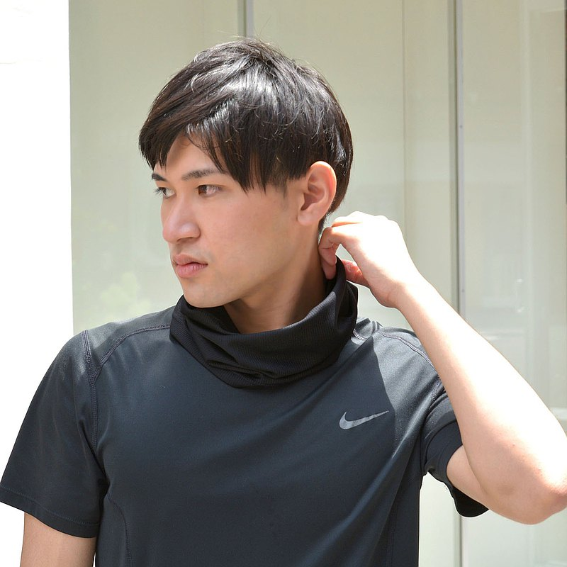 MADE IN JAPAN夏季夏季防紫外線護頸套,乾燥冷卻配件