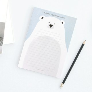 ICONIC is naturally a good note A5-D Snow Bear White, ICO52675
