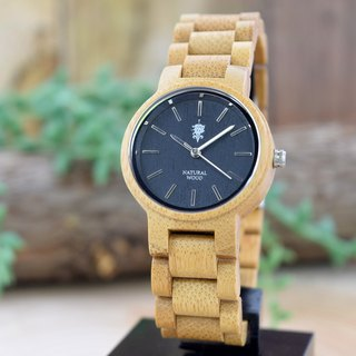 EINBAND Dank Bamboo 32mm Wooden Watch