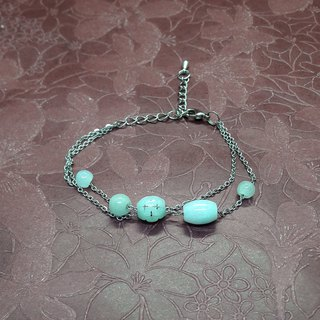 Jade Strings - Natural Burma Jade Pearl Jade Carving Design Bracelet