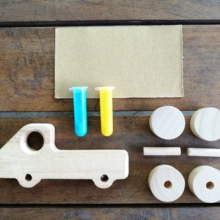 DIY wooden toy - TRUCK