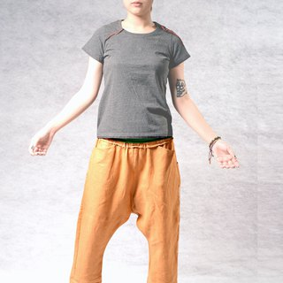 Summer casual simple wild pants