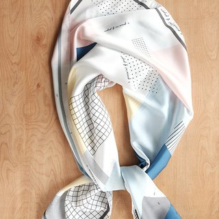 SCARF : Graphic Pastel