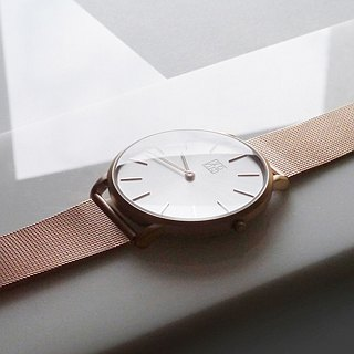 THIN 5010 Minimalist Slim Milan Watch - Rose Gold