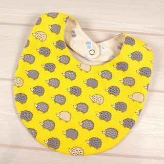 Bibs Bib - hedgehog (yellow)