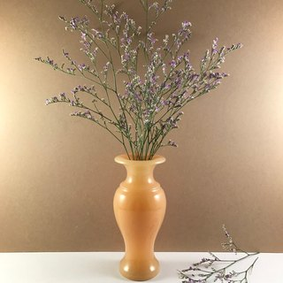 【vase】natural stone - hand made / tabe furnishings / flower / plants