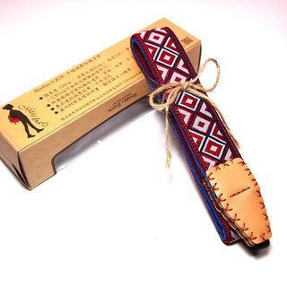 [Square] Missbao Hands sew camera strap decompression of Formosan Aborigines
