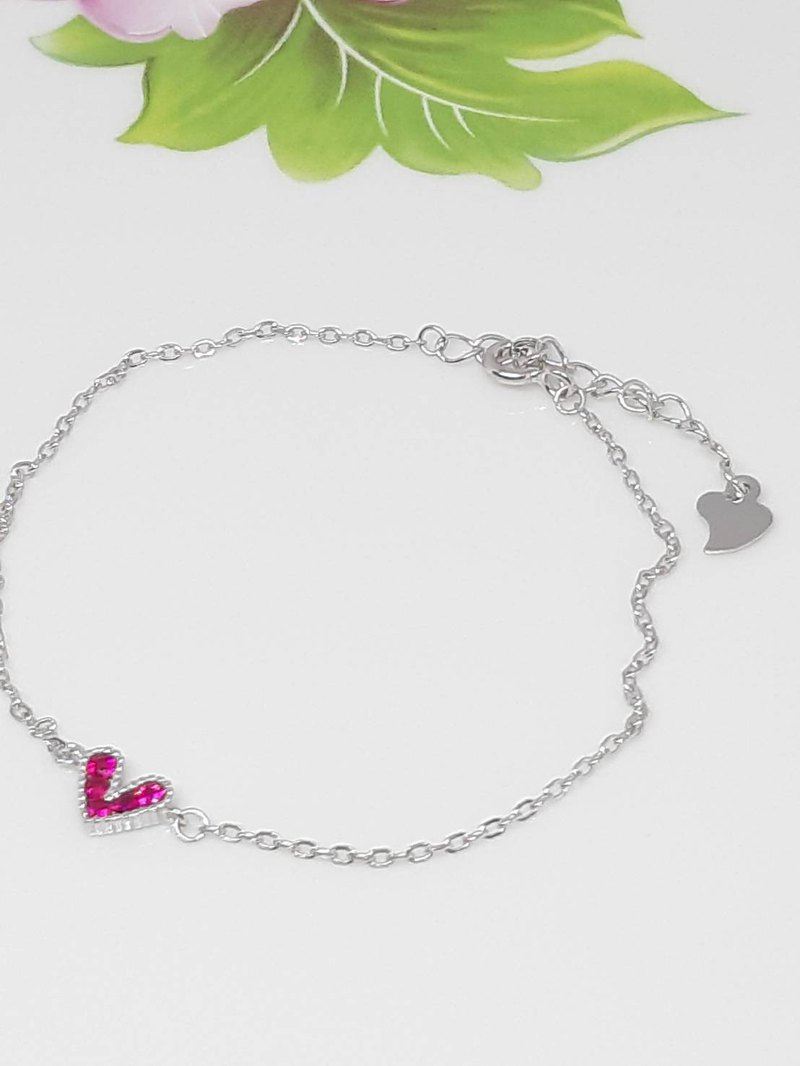 Sterling Silver Rose Gold Premium Purple Topaz - Bracelet - Mother's Day - Birthday - Valentine's Day