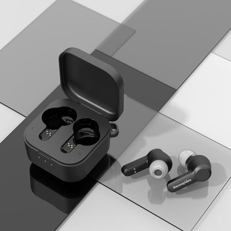 thecoopidea - BEANS PRO 2 主動降噪真無線藍牙耳機 - 黑魂