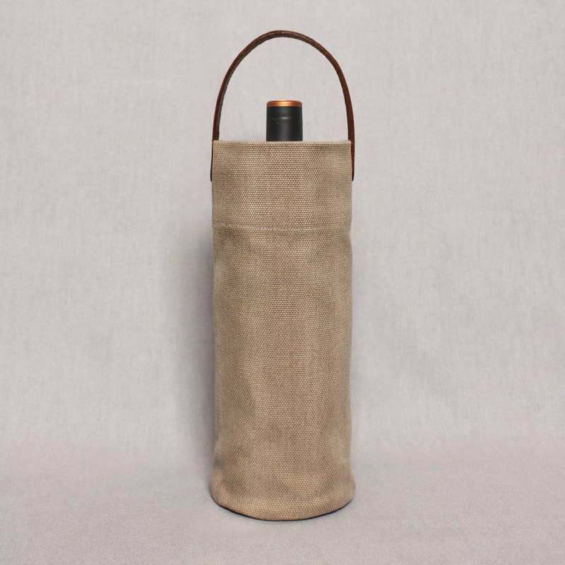 Kettle bag beverage bag water bottle with thermos cup bag bag wine bag - desert color