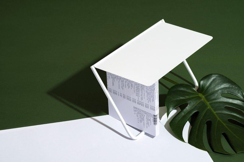 FlipUp/翻轉置物架 - 晨曦白CD架款