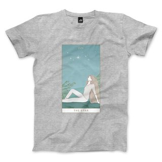 XVII | The Star - Deep Heather Grey - Unisex T-Shirt
