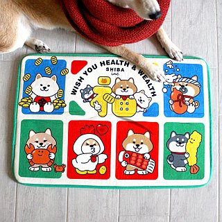 Hoo Hey How SHIBAinc CNY Rug