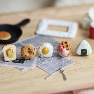 袖珍活力早餐耳環套組 Miniature Breakfast Earring Set