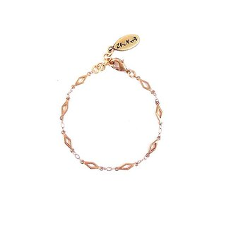 [UNA- excellent Na] handmade wild _Ⓒ basic shape models copper brass chain bracelet