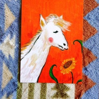 [Animal] Series - Horse _ Postcard _ Card