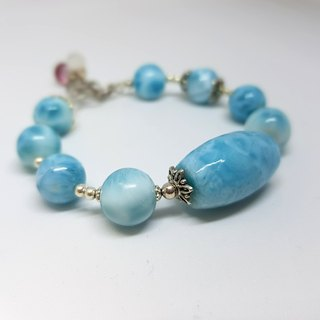 Crystal girl world - [Ocean Star] - Larima hand made natural crystal bracelet