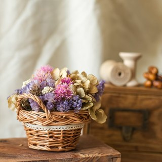 {Fleurir beautiful flowers blossoming time} Good day gift / dried bouquet / hand-made dried flower ceremony / Wedding Accessories / exchange gifts