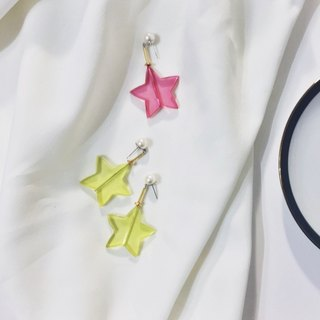 Marygo ﹝ ﹞ perspective earrings star biscuits