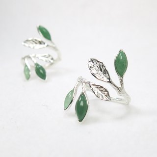 READ Dazzling is endless | sterling silver ring Dongling jade index finger ring 925 sterling silver hand made