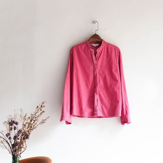 River Water - Island Pink Youth Festivals antique cotton shirt blouse coat oversize vintage