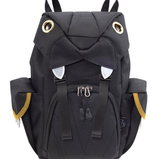 Morn Creations Genuine Cute Tiger Backpack S - Black (BC-204-BK)