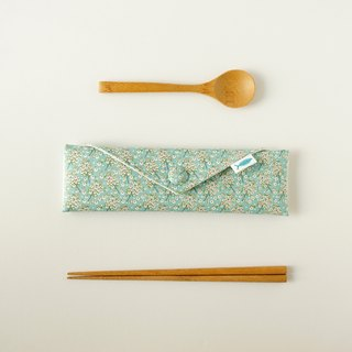 /Small fresh-blue// Cutlery bag/brush bag/Stationery pencil case