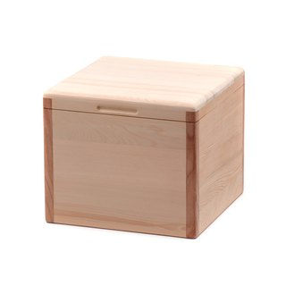 Taiwan Elm rice box 5 kg split type rice cup | solid wood storage barrel will breathe wooden tableware